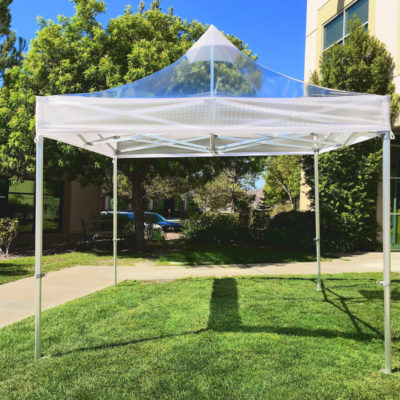 Heavy duty commercial Clear popup tent